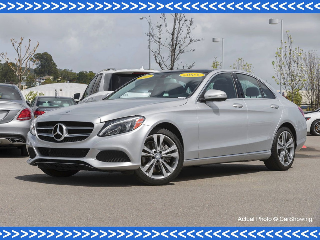 Certified pre owned 2015 mercedes benz c class c 300 sedan Mercedes benz certified pre owned lease