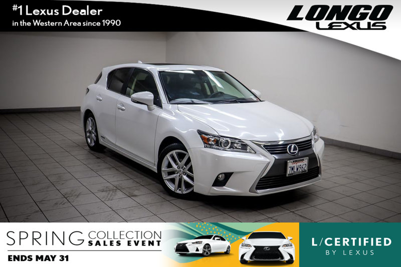 Pre Owned 2015 Lexus CT 200h 5dr Sedan Hybrid
