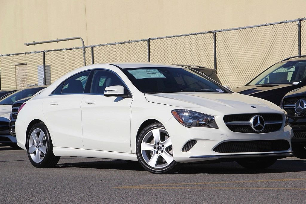 New 2018 mercedes benz cla cla 250 coupe in san rafael for Mercedes benz cla 250 msrp