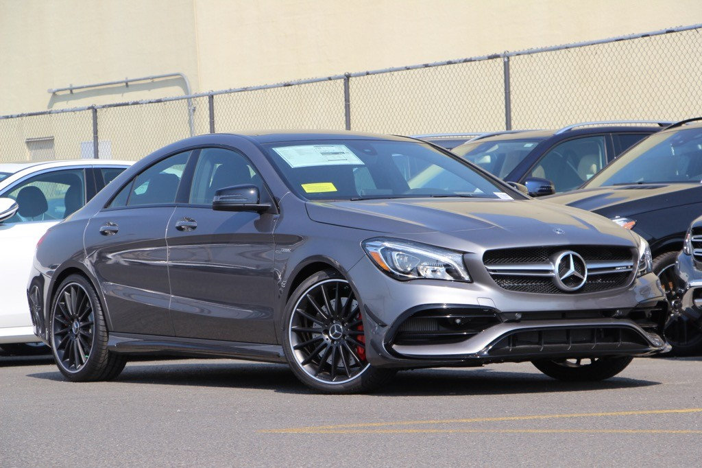 New 2018 mercedes benz cla amg cla 45 coupe coupe in san for Mercedes benz under 30000