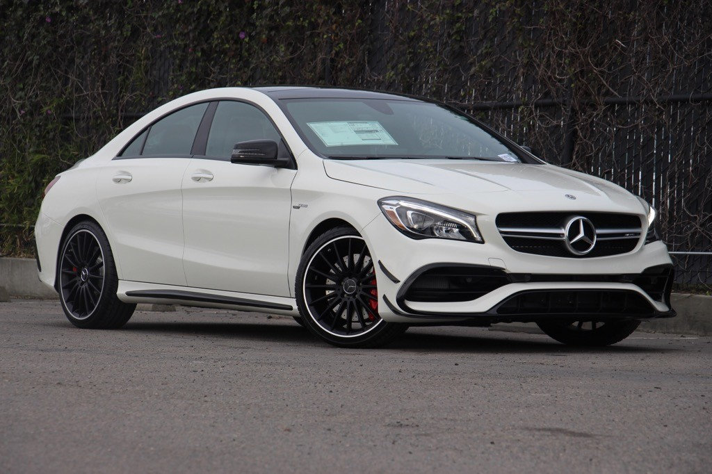 New 2018 mercedes benz cla amg cla 45 coupe coupe in san for Mercedes benz cla 2018 price