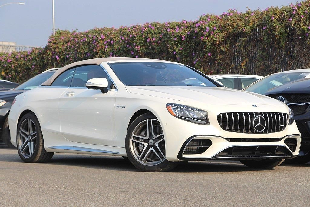 New 2018 Mercedes Benz S Class Amg S 63 Cabriolet Cabriolet In San