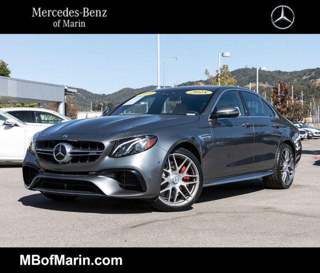 Certified Pre-Owned 2018 Mercedes-Benz E-Class AMG® E 63 S Sedan